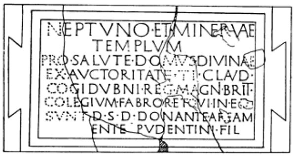 roman tablet, chichester
